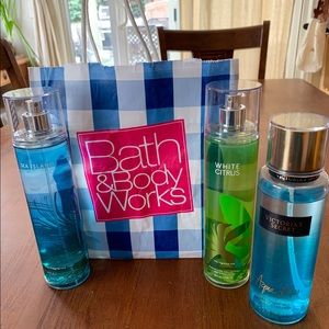 Bath & Body Works and Victoria's Secrets Bundle